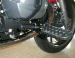 19-600BL, BMW HIGHWAY PEGS, R1200, DOHC, 2010-2013, BLACK POWDERCOAT (19-600BL)