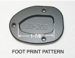 "20-200, SIDESTAND FOOT ENLARGER, F800GT, F800S, F800ST (FOR 1-7/8"" FOOT PAD) (20-200)"