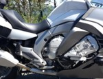 26-500BL, ENGINE GUARD BAR SYSTEM (CRASH BARS), 2012 & UP K1600GT / GTL / GTLE, BLACK POWDERCOAT (26-500BL)
