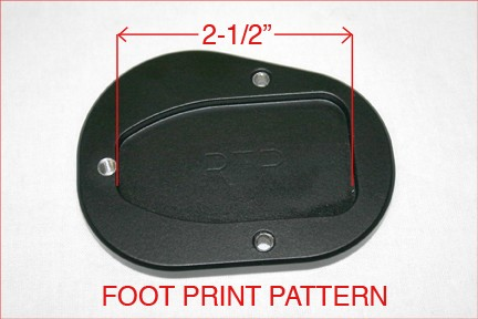 10-450, SIDE STAND FOOT ENLARGER, R1150RT (10-450)