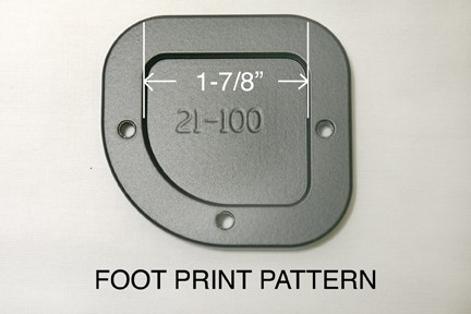 21-100, SIDE STAND FOOT ENLARGER, F650GS2, F700GS (21-100)