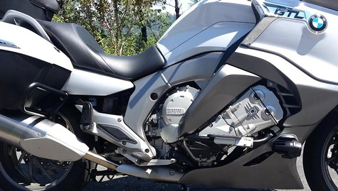 26-500, ENGINE GUARD SYSTEM (CRASH BARS) 2012 & UP K1600GT/GTL/GTLE, IRON GLIMMER POWDERCOAT (26-500)